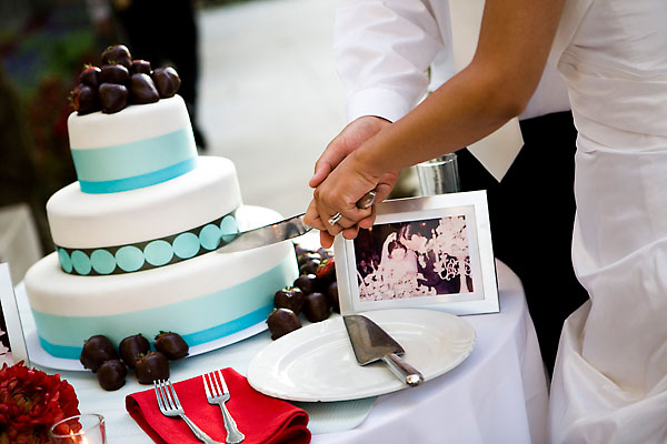 Cakes, cake, Cake cutting, Aqua and red