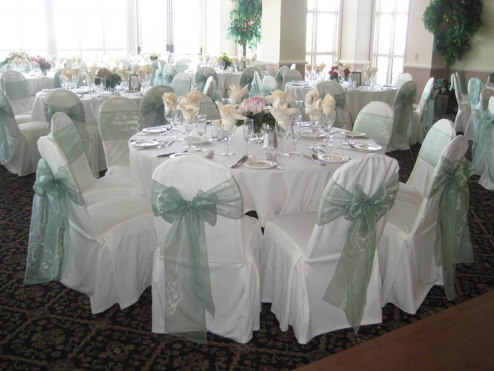 Ceremony, Flowers & Decor, Ceremony Flowers, Centerpieces, Tables & Seating, Flowers, Centerpiece, Chairs, Satin, Reception site, Linen, Decorations, Covers, Sashes, Wedding decor, Organza, Just chair covers, Chaircovers, Irvine
