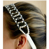 Beauty, Jewelry, Headbands, Hair, Pearls, Kris nations, Headband