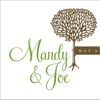 Stationery, green, brown, Invitations, Monogram, Birds