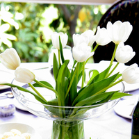 Centerpiece, Tulips, Heavenly blooms, Disneyland hotel