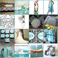 blue, Tiffany, Damask