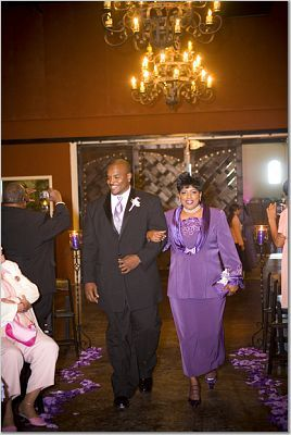 Ceremony, Flowers & Decor, purple, Mother of the bride, Palm event center, Purple ceremony