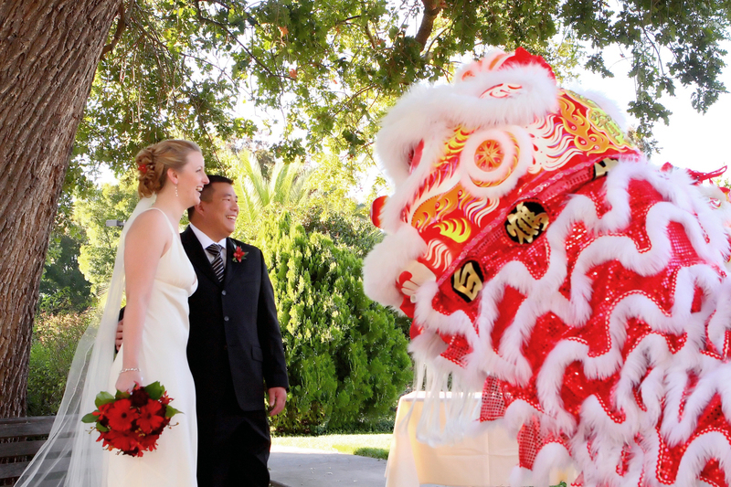 Reception, Flowers & Decor, red, Lion, Dancers