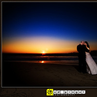 Beach, Bride, Groom, Wedding, Sunset, Baker, Ed pingol photography, Aftershoot