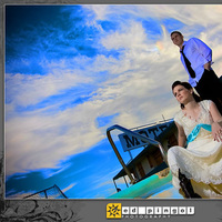 Bride, Groom, Wedding, And, Ed pingol photography, Aftershoot, Motel