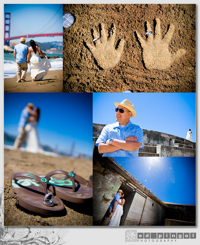 Destinations, Beach, Bride, Groom, Rings, Wedding, And, Destination, Ed pingol photography