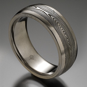 Wedding, Ring, Chris, Chris ploof, Ploof, Steel, Damascus, Stainless