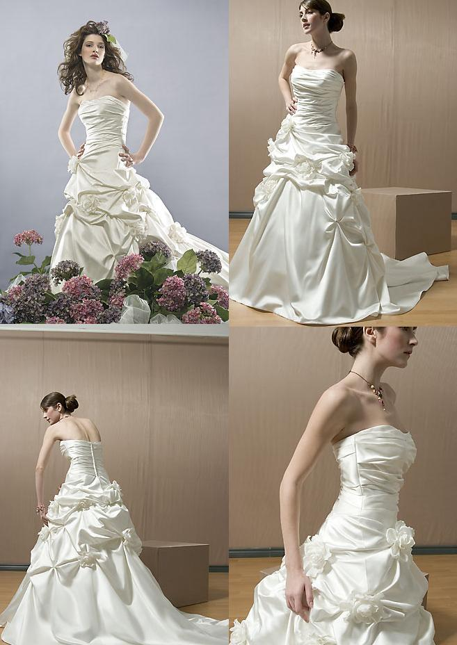Gown, Wedding, Alfred, Sung