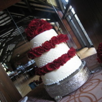 Flowers & Decor, Cakes, red, cake, Flowers, Roses