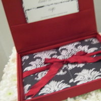 Stationery, Invitations, Boxed, Silk, Dupioni