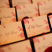 Reception, Flowers & Decor, Calligraphy, Cards, Place