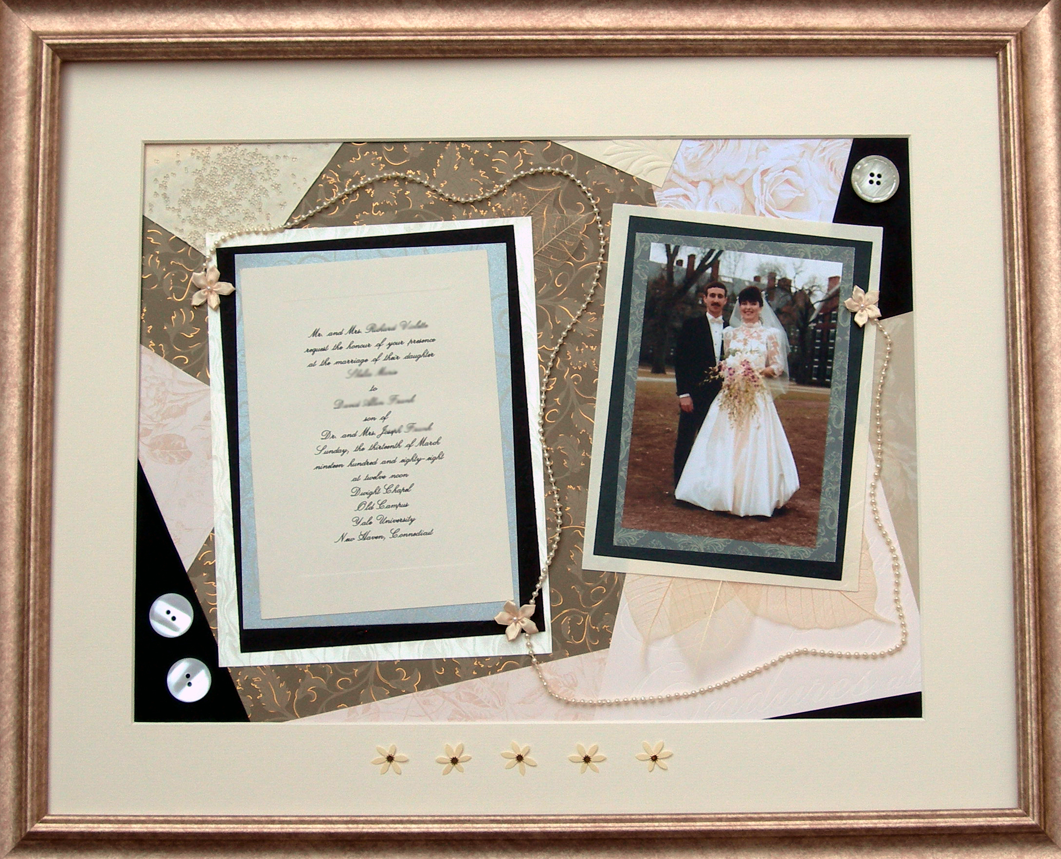 Stationery, invitation, Invitations, Gift, Anniversary, Personalized, Keepsake, Framed, Purple raincoat, Milestone, 20th
