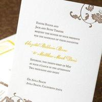 Stationery, Garden Wedding Invitations, Vineyard Wedding Invitations, Invitations, Letterpress, Sugar plum invitations