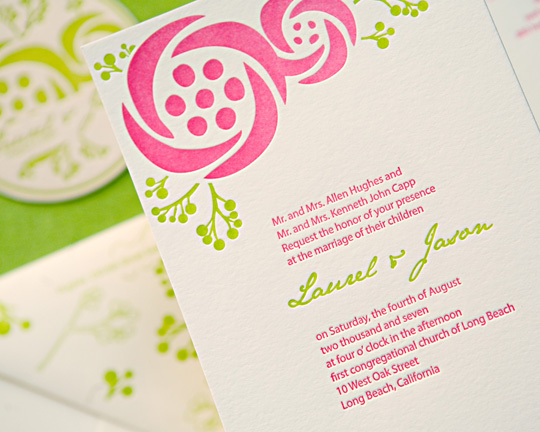 Stationery, invitation, Modern, Modern Wedding Invitations, Invitations, Letterpress, Sugar plum invitations