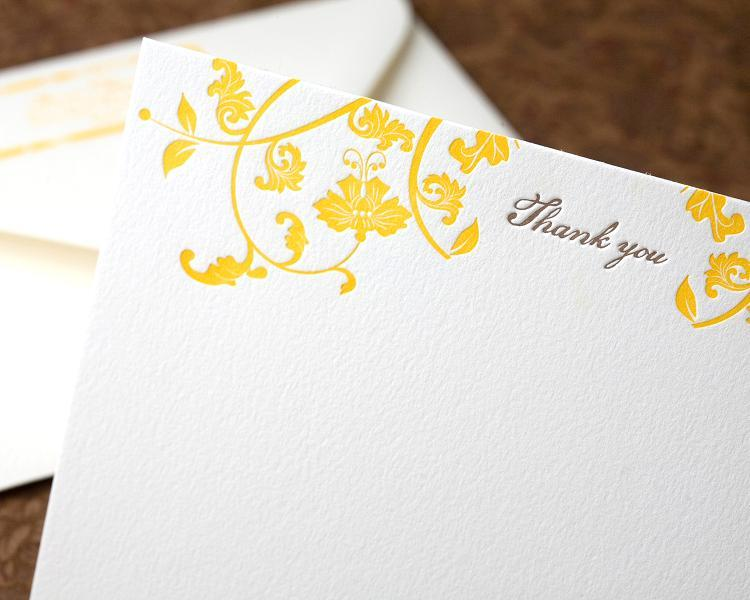 Cards, Letterpress, You, Thank, Sugar plum invitations