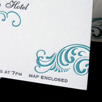 Stationery, Invitations, Letterpress, Sugar plum invitations