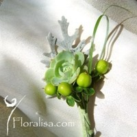 Rustic, Boutonniere, Floralisa