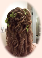 Beauty, Flowers & Decor, Makeup, Bride Bouquets, Flowers, Hair, Bridal, Brides, Island, Artist, Mac, Updos, Stylist, Mariahs mane mobile bridal services, Escentuals, Bare, Hairstyles, Hairdos