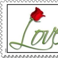 Flowers & Decor, Roses, Flower, Wedding, Love, Stamp, Everafter stamps, Postage, Everafterstamps