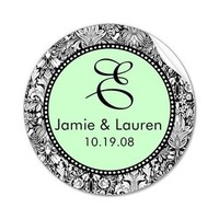 Monogram, Wedding, Me, Sticker, Everafter stamps, Customize