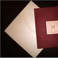 pink, burgundy, And, Invite, Paper monkey
