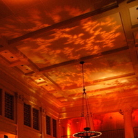 Bentley, Gobo, Reserve, Elle music events, Ceiling, Pattern, Wash