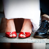 Shoes, Fashion, red, Bride, Groom, Red wedding shoes, Red shoes