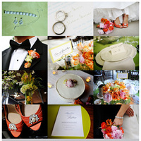 Reception, Flowers & Decor, Wedding Dresses, Shoes, Fashion, orange, pink, green, dress, Bride Bouquets, Centerpieces, Garden, Flowers, Garden Wedding Flowers & Decor, Roses, Bouquet, Centerpiece, Fun, Unique, Peach, Tulips, Tulip, Rose, Hydrangea, Peonies, Poppies, La partie events, Creative, Florals, Peony, Ranunculas, Ranuncula, Poppy, Flower Wedding Dresses