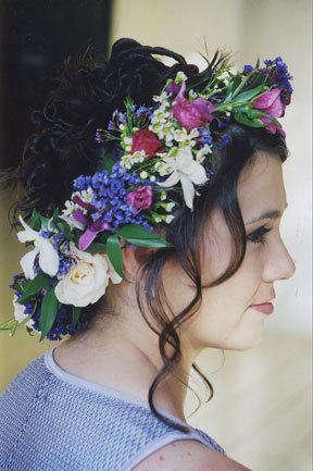 Beauty, Flowers & Decor, Flowers, Wedding, Hair, And, Up, Make