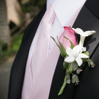 Fashion, pink, Men's Formal Wear, Stephanotis, Tuxedo, Boutinierre, Eucalyptus