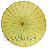yellow, Parasols