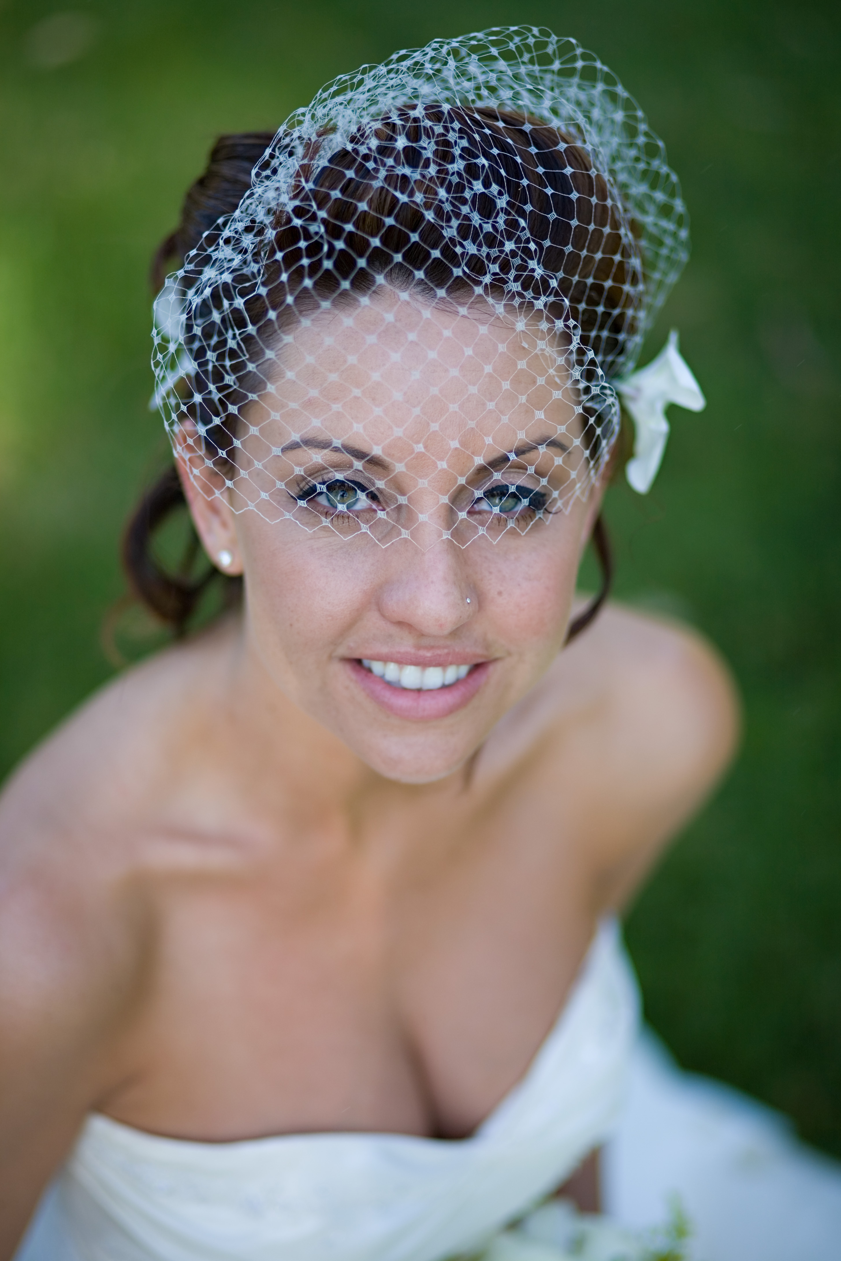 Veils, Fashion, Veil, Bridal portrait, Dave richards, Birdcage veil