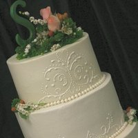 Flowers & Decor, Cakes, cake, Spring, Flowers, Wedding, Buttercream, Creative cakes and cookies, Piping