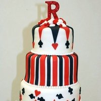 Cakes, white, red, black, cake, Wedding, Fondant, Las, Vegas, Creative cakes and cookies