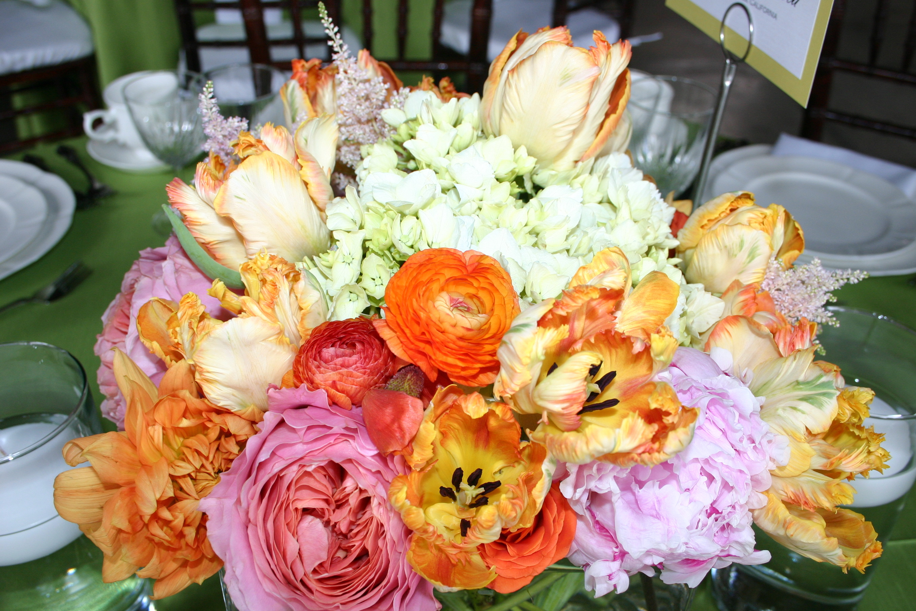 Centerpieces, Spring Wedding Flowers & Decor, Summer Wedding Flowers & Decor