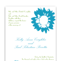 Stationery, invitation, Modern, Modern Wedding Invitations, Invitations, Wedding, Custom, Unique, Floral, Personalized, Buzybeepress, Sunflower, Invitaiton