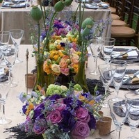 Flowers & Decor, Centerpieces, Flowers, Centerpiece, Floral, Tall, Lush
