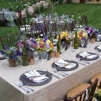 Flowers & Decor, Centerpieces, Flowers, Centerpiece, Low, Floral, Lush, Eclectic
