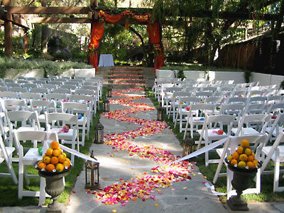 Ceremony, Flowers & Decor, Garden, Wedding, Los, Angeles, Sweet dreams designs beach weddings, Gay