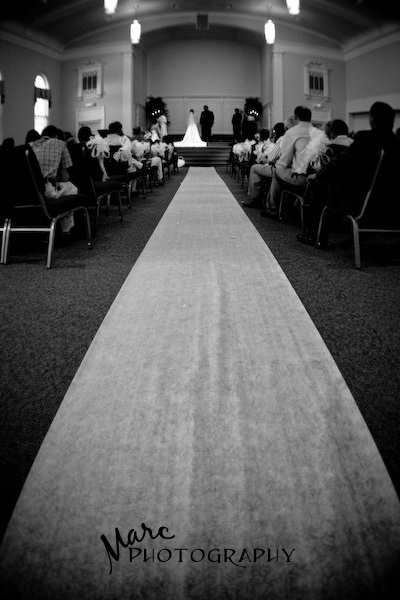 white, black, Wedding, Church, Marc photography