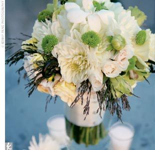 Flowers & Decor, white, green, Bride Bouquets, Flowers, Bouquet, Bridal