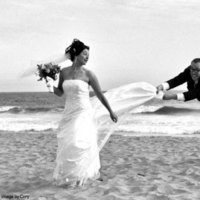 Destinations, Beach, Spring, Summer, Fall, Bride, Outdoor, Groom, Wedding, Fun, Destination, Couple, La, Married, California, Malibu, Sand, Romance, Love, Los, Angeles