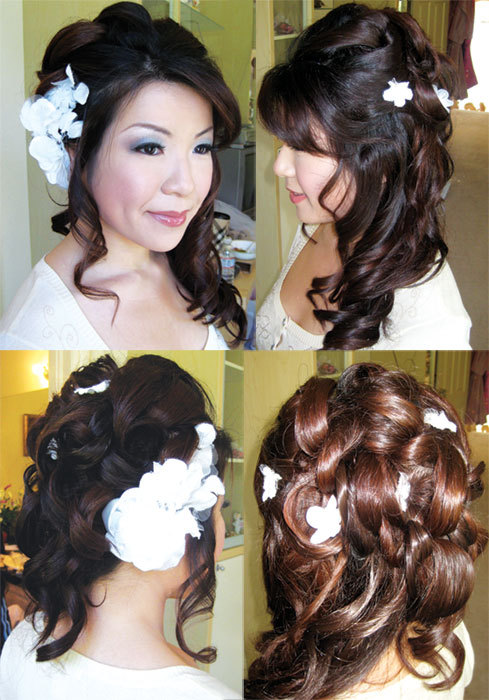 Beauty, Wedding, Hair, Day-of, Nicole chen