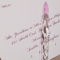 Calligraphy, Stationery, invitation, Invitations, Envelope, Ink, E danae art calligraphy, Calligrapher, Pen