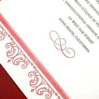 Stationery, Invitations, Letterpress