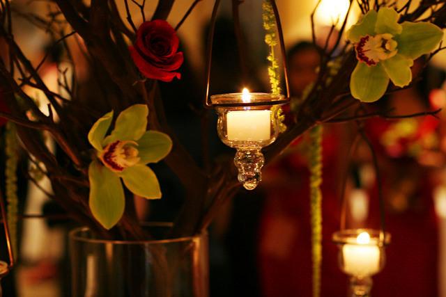 Flowers & Decor, Decor, Candles, Centerpiece