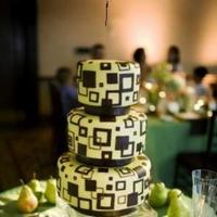 Cakes, green, cake, Modern, Modern Wedding Cakes, Apple, Soireebliss
