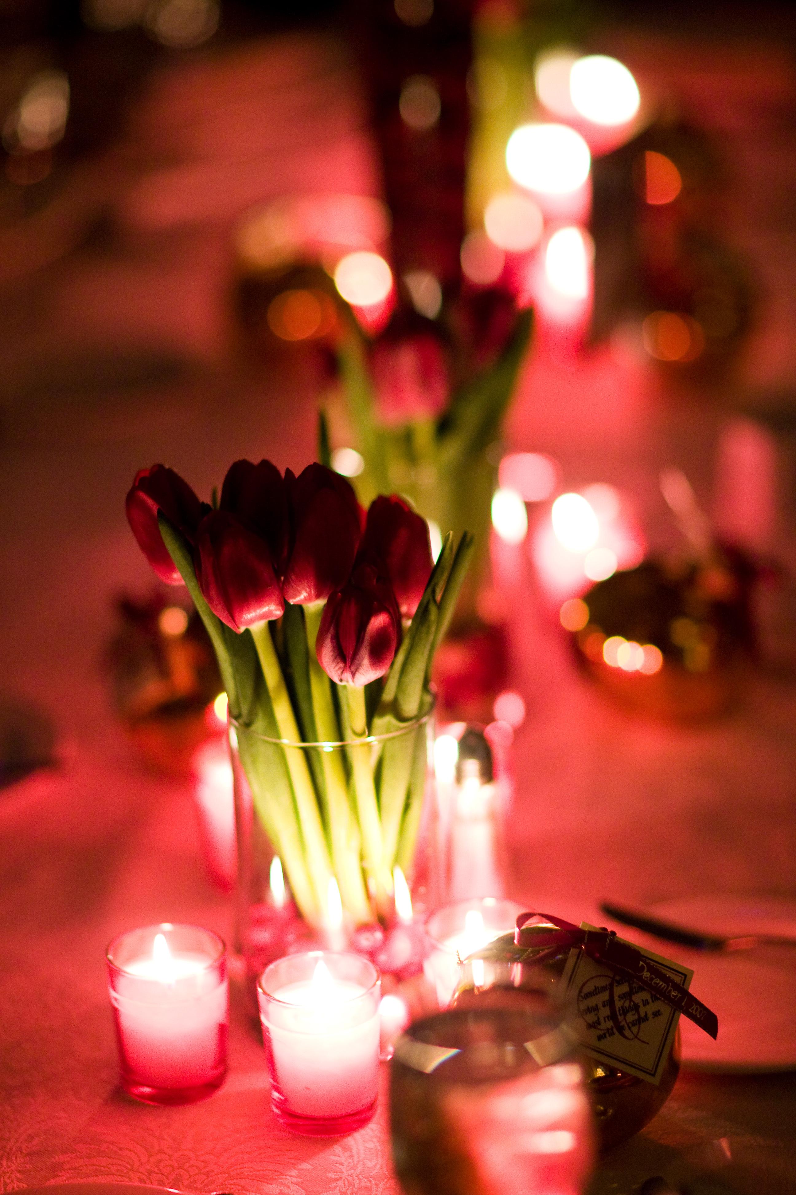 Flowers & Decor, red, Centerpieces, Flowers, Centerpiece