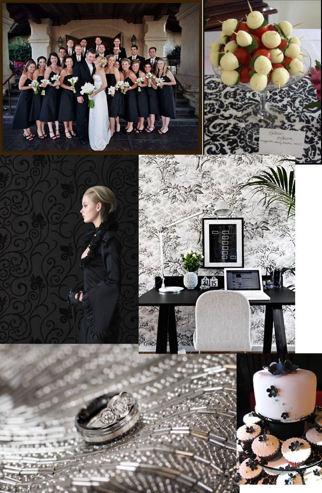 Inspiration, Fashion, white, red, black, Board, Damask
